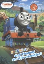 , Geef kleur aan Thomas en zijn vriendjes