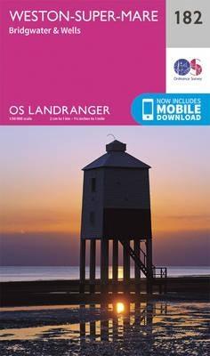 Ordnance Survey,Weston-Super-Mare, Bridgwater & Wells