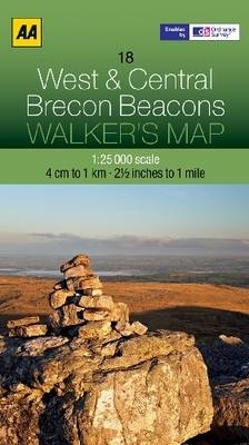 AA Publishing,West and Central Brecon Beacons