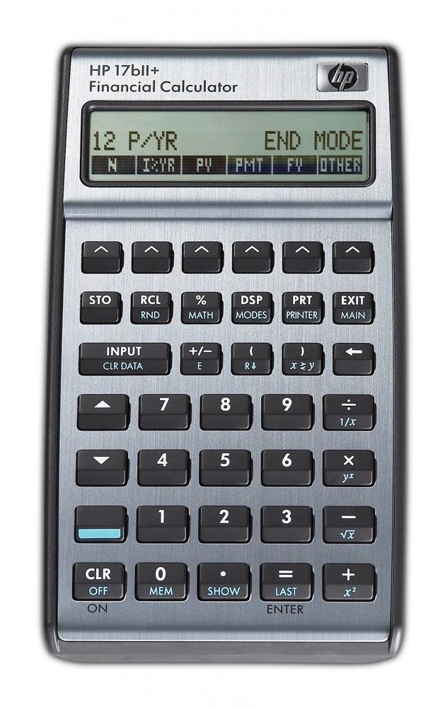 ,Rekenmachine HP 17BII+