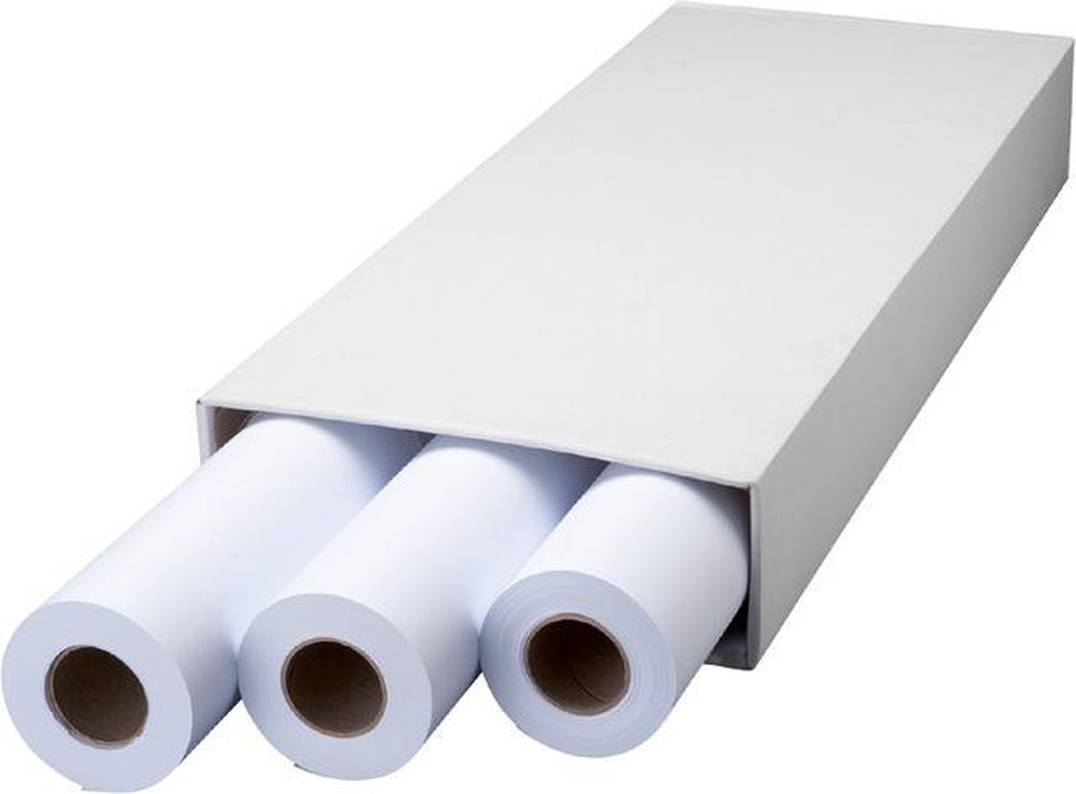 ,Inkjetpapier Fastprint Plot 610mmx50m 75gr