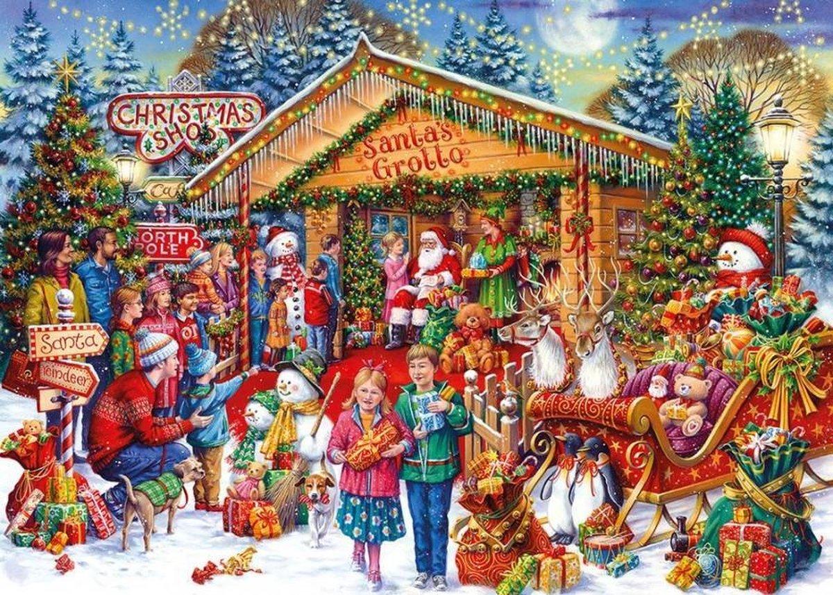 Gib-g2020,Puzzel this way to santa 1000 stuks limited edition