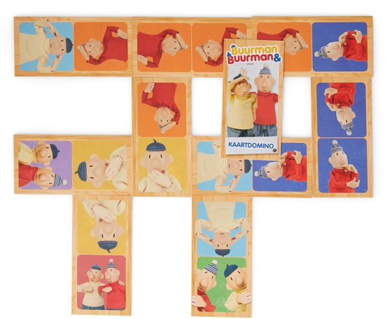 ,Buurman & Buurman 3-in-1 Box (Puzzel+Memo+Domino)