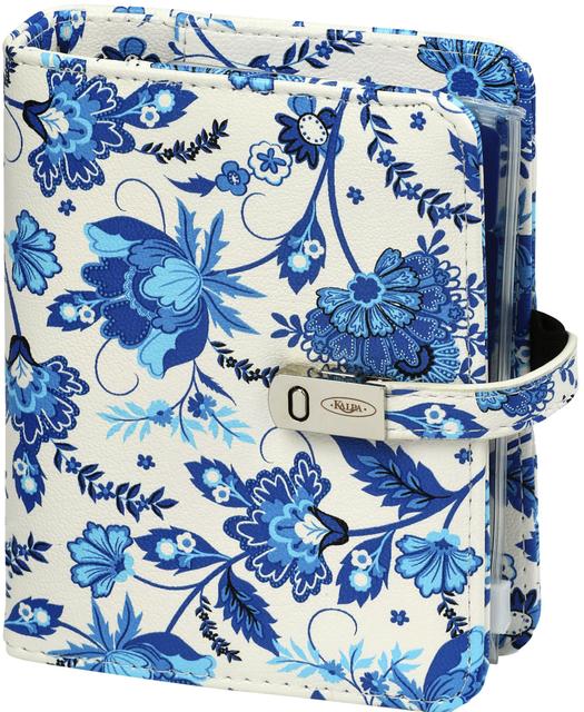 ,Agenda 2020-2021 organizer Kalpa Pocket Junior Bloem Delfts blauw