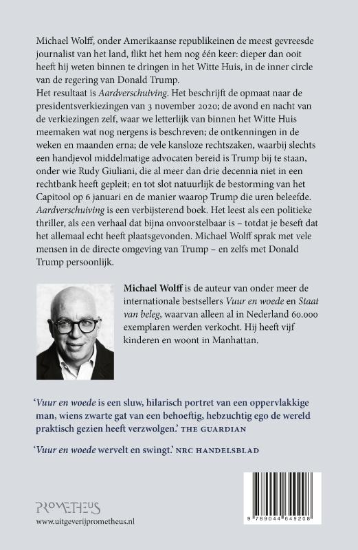 Michael Wolff,Aardverschuiving