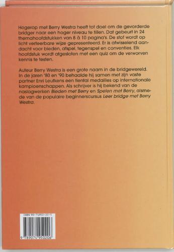 B. Westra,Hogerop met Berry Westra 2