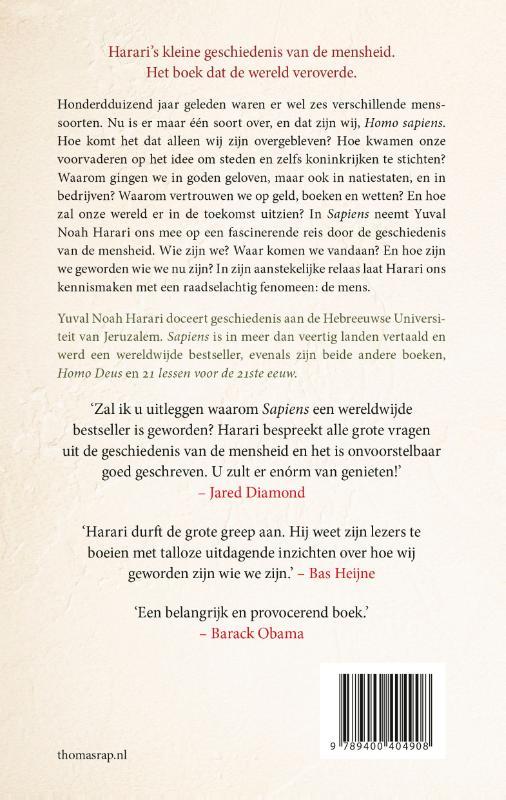 Yuval Noah Harari,Sapiens