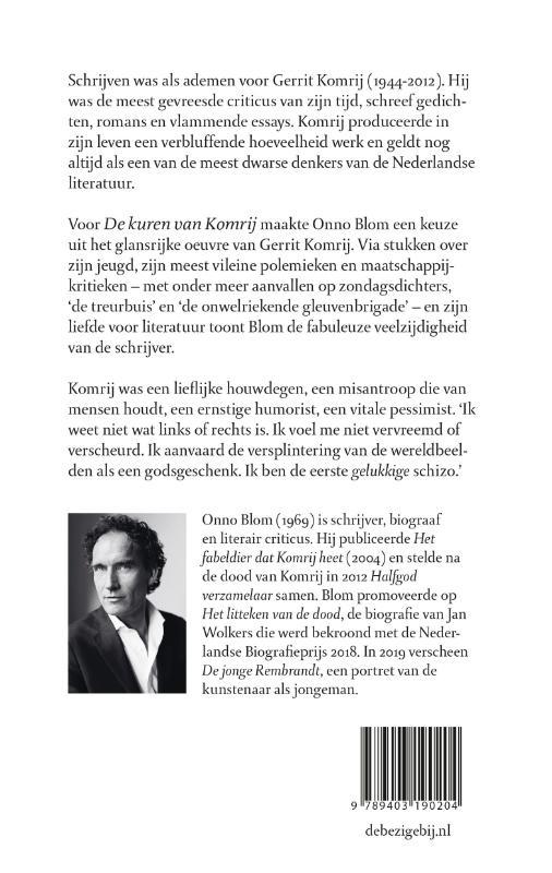 Gerrit Komrij,De kuren van Komrij