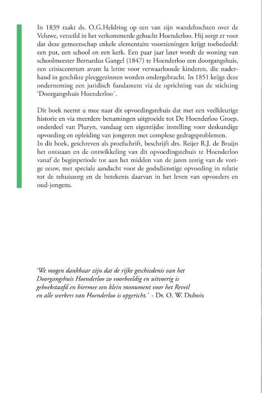 Reijer R.J. Drs De Bruijn,Losse teugels, vaste hand