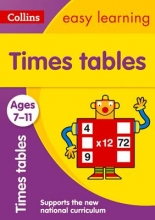 Collins Easy Learning Times Tables Ages 7-11: New Edition