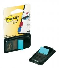 , Indextabs 3M Post-it 680 25.4x43.2mm felblauw