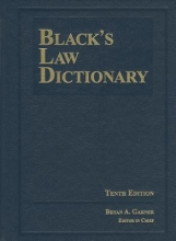 Black`s Law Dictionary