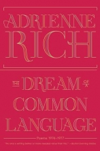 Adrienne Rich The Dream of a Common Language