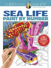 Toufexis, George Creative Haven Sea Life Paint by Number