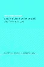 McCormack, Gerard Secured Credit Under English and American Law