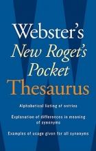 Webster`s New Roget`s Pocket Thesaurus