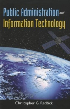 Christopher G. Reddick Public Administration And Information Technology