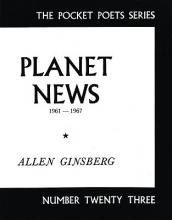 Ginsberg, Allen Planet News, 1961-1967