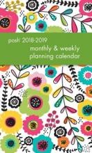 Posh Glitter Garden 2018-2019 Monthly & Weekly Planning Calendar