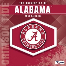 The University of Alabama Crimson Tide 2017 Sports Calendar