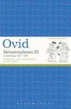 Ovid,   Dr John Godwin,Metamorphoses III