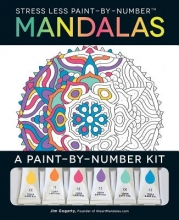 Gogarty, Jim Stress Less Paint-by-number Mandalas