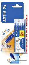 , Rollerpenvulling PILOT Frixion blauw 0.35mm blister à 6 stuks
