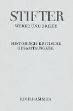 Stifter, Adalbert Werke und Briefe I/3. Studien, Journalfassungen III