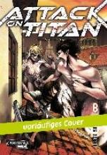 Isayama, Hajime Attack on Titan 08