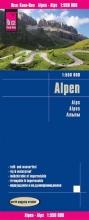 , Reise Know-How Landkarte Alpen 1:550.000
