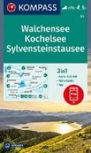 , Walchensee, Kochelsee, Sylvensteinstausee 1:25 000