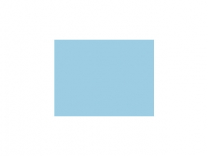 , tekenpapier Folia 50x70cm 130gr pak a 25 vel lichtblauw