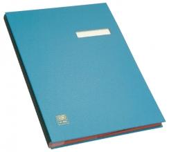 , Vloeiboek Elba 20 vakken blauw