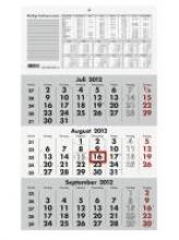 Dreimonatskalender 2018 Nr. 956-0000