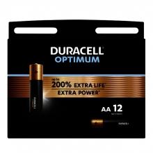 , Batterij Duracell Optimum 12xAA