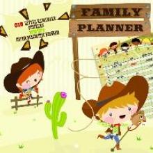 Familienplaner Cowboys