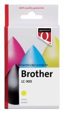 , Inktcartridge Quantore Brother LC-900 geel