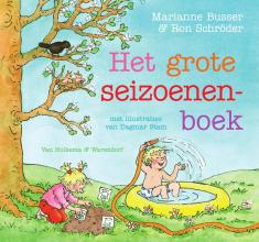 Marianne  Busser, Ron  Schröder Het grote seizoenenboek