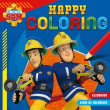 , Brandweerman Sam Happy Coloring