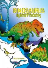 Anjo  Mutsaars Dinosaurus kleurboek