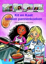 Jolanda  Horsten Kit & Kaat bakken pannenkoeken