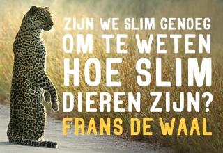 Frans de Waal Zijn we slim genoeg om te weten hoe slim dieren zijn DL