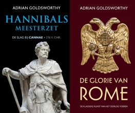 Adrian  Goldsworthy Hannibals meesterzet en Glorie van Rome - pakket