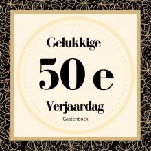 Gelukkige Verjaardag Gastenboek , Gelukkige 50e Verjaardag Gastenboek