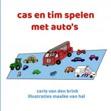 Carla van den Brink , cas en tim spelen met auto`s