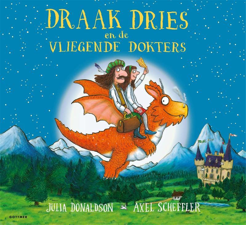 Julia Donaldson,Draak Dries en de vliegende dokters