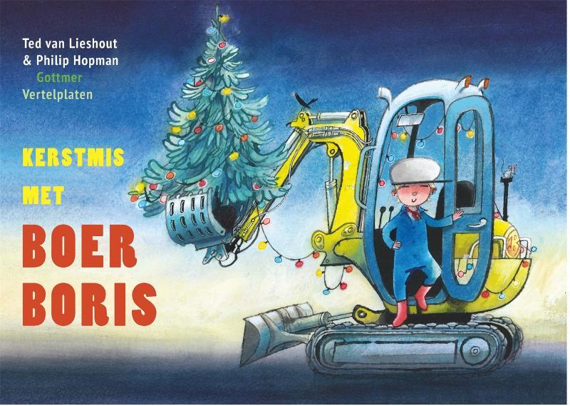 Ted van Lieshout,Kerstmis met Boer Boris | vertelplaten