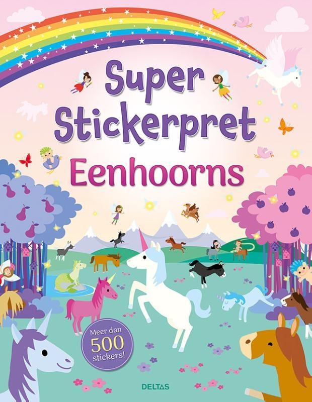 ,Super Stickerpret-Eenhoorns
