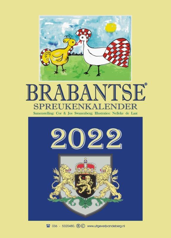 ,Brabantse spreukenkalender 2022