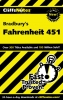 Hiner, Kristi,Cliffsnotes Bradbury`s Fahrenheit 451